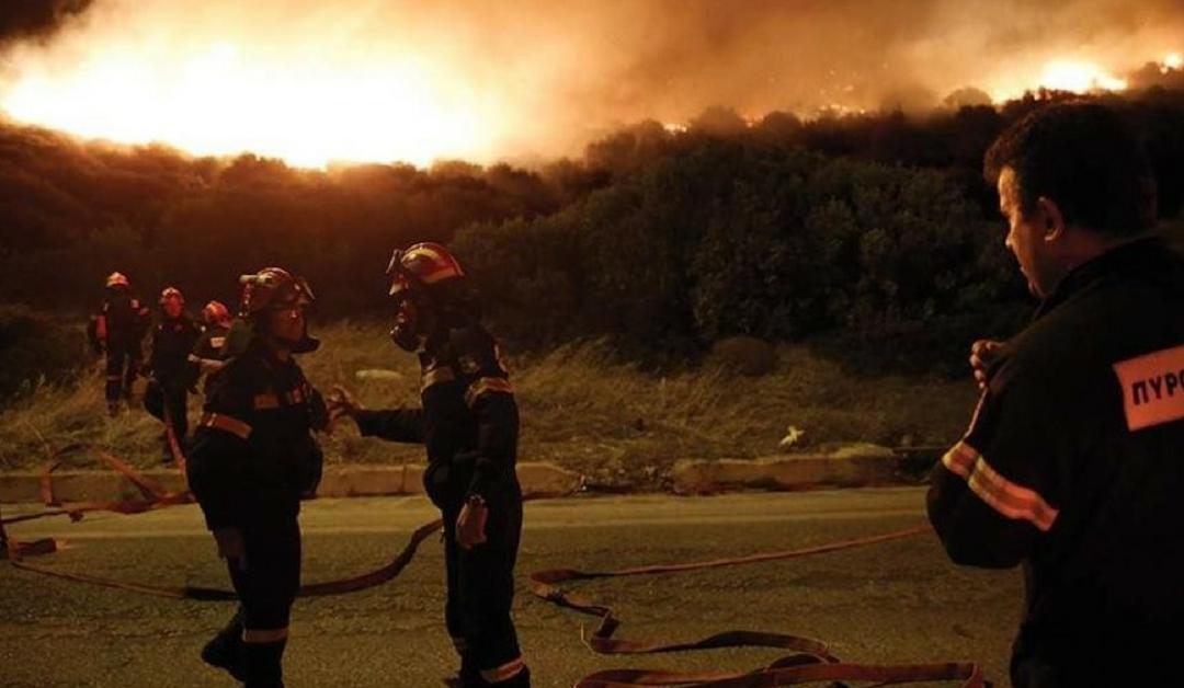 Solidarietà alla Grecia per gli incendi di Atene