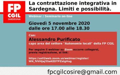 La contrattazione integrativa in Sardegna. Limiti e possibilità.
