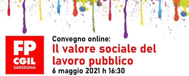 Il valore sociale del lavoro pubblico – le slide